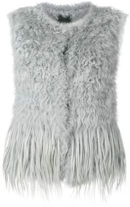 Drome short fur vest