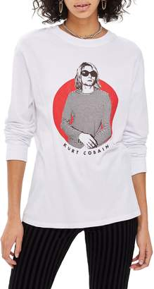 Topshop by And Finally Kurt Cobain Tee