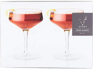 Raye Viski 7Oz. Crystal Coupe Glass
