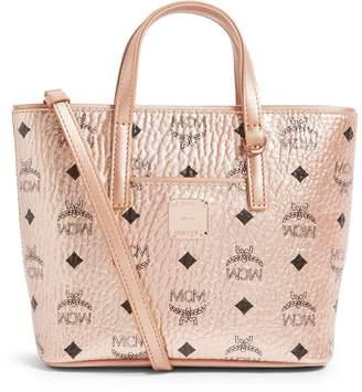 MCM Mini Metallic Anya Tote Bag