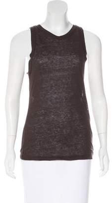 Isabel Marant Silk Sleeveless Top