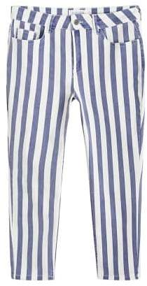 Violeta BY MANGO Super slim striped jeans