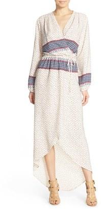 Women's Fraiche By J Print Wrap Maxi Dress $116 thestylecure.com