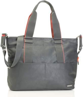 Storksak 'Eden' Faux Leather Diaper Bag