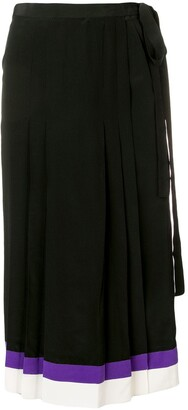 Cashmere In Love pleated midi skirt