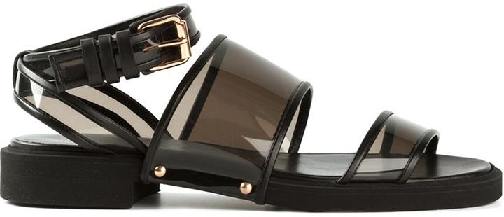 Givenchy transparent sandals