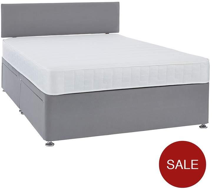 Calie Divan Base And Headboard – With Optional Memory Foam Or Pillowtop Mattress