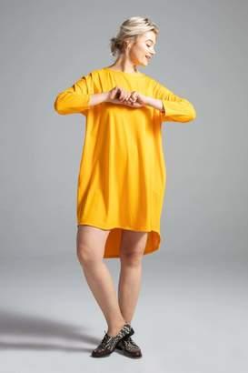 Shegul Krystyana Dress in Marigold Size Large