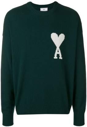 Ami Alexandre Mattiussi Oversized Ami de Coeur sweater