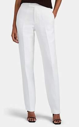 Helmut Lang Women's Hopsack Slim Trousers - White