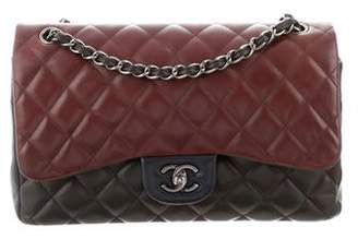 084f78a39c48 Classic Black Leather Bag Silver Hardware   - ShopStyle