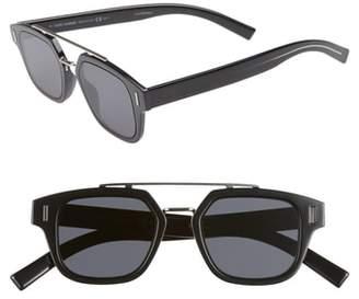 Christian Dior 46mm Square Sunglasses