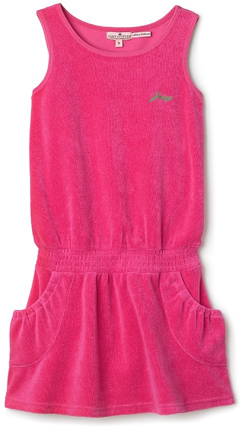 Juicy Couture Girls' Terry Dress - Sizes 7-14