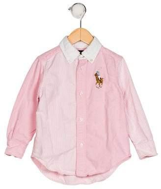 Polo Ralph Lauren Boys' Collar Button-Up Shirt
