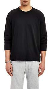 James Perse Men's Raglan Sleeve Long Sleeve Pullover - Black