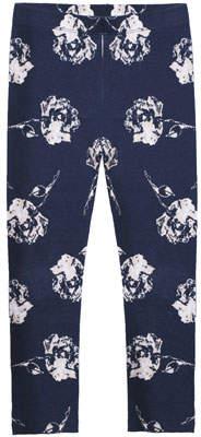 Imoga Rose-Print Stretch Leggings, Size 8-14