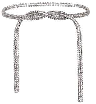 Calvin Klein Crystal-embellished belt