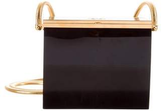 Chanel Acrylic Box Clutch