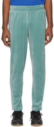 adidas Green Velour Cozy Lounge Pants