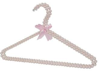 Home Basics Pearl Hangers, (Pack of 2), Pink