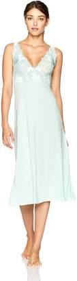 Natori Women's Zen Floral Sleeveless Gown