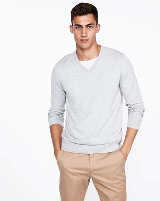 Express V-Neck Pullover Sweater