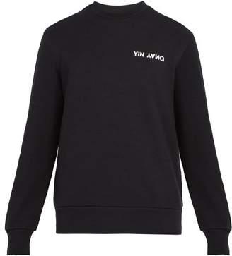 Rag & Bone Yin Yang Crew Neck Sweatshirt - Mens - Black