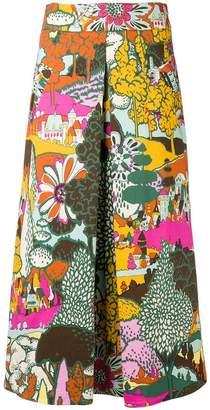 MONICA La Doublej Long Santa skirt