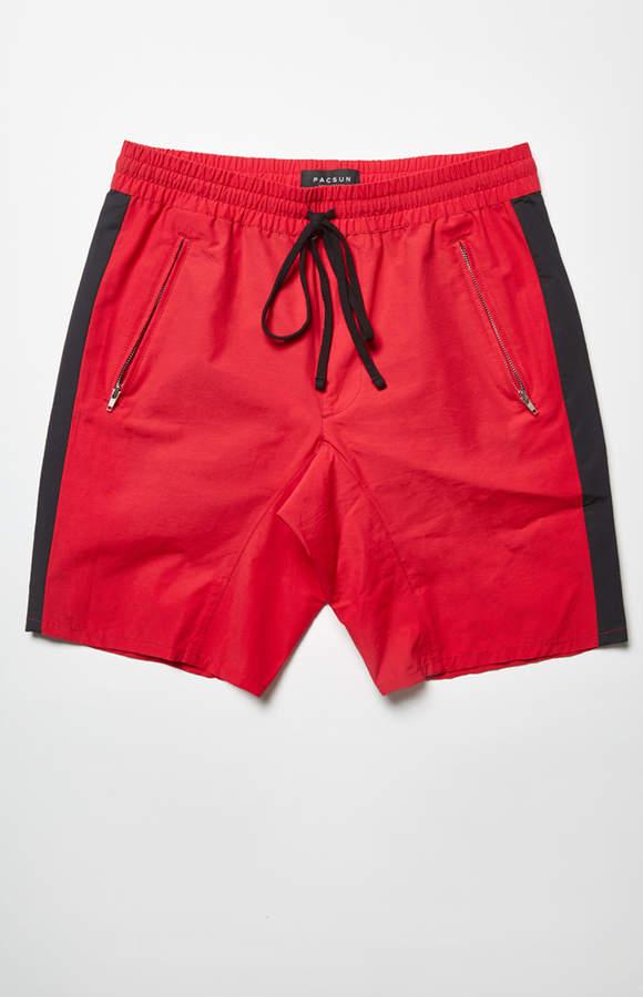 Pacsun Drop Skinny Nylon Drawstring Shorts