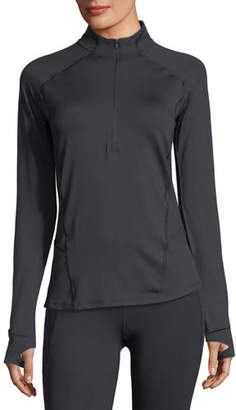 Under Armour Run True Half-Zip Long-Sleeve Performance Top