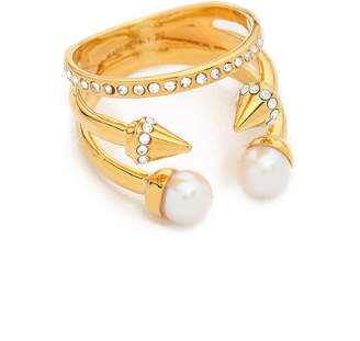Vita Fede Ultra Mini Freshwater Cultured Pearl Titan Ring