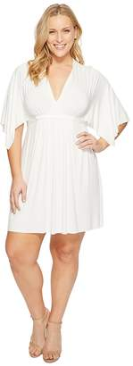 Rachel Pally Plus Size Mini Caftan Dress Women's Dress
