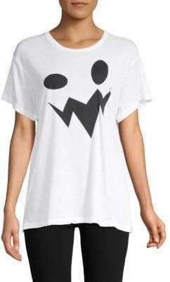 Wildfox Couture Manchester Oversized Graphic Tee