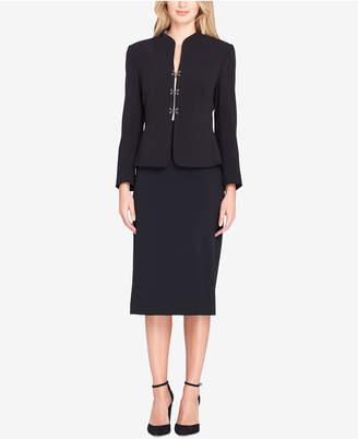 Tahari ASL Hook-Closure Skirt Suit