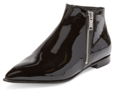 Blake Double Side Zip Bootie $388 thestylecure.com