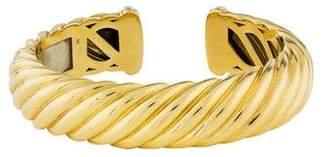 Sculpted Cable Bracelet