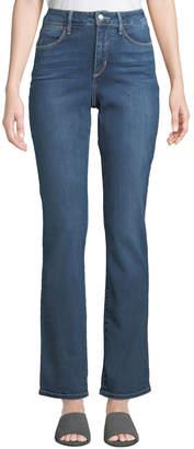 NYDJ Marilyn Mid-Rise Straight-Leg Jeans