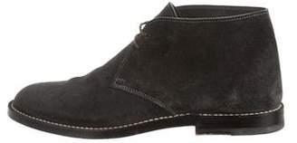 Bottega Veneta Suede Desert Boots