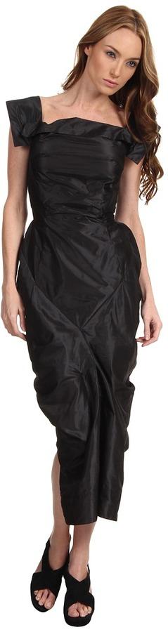 Vivienne Westwood Beetle Dress (Dark Charcoal) - Apparel
