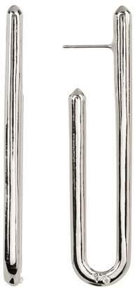 Vince Camuto Narrow Curved J Hoop Earrings