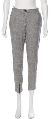 Creatures of Comfort Mid-Rise Cropped Pants