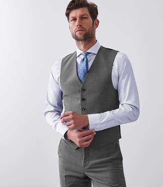 Reiss Belief Modern Fit Travel Suit Waistcoat