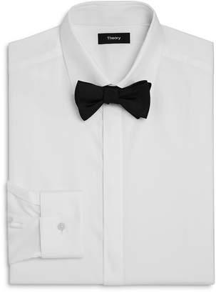 Theory Textured Slim Fit Tuxedo Shirt