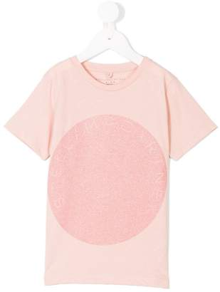 Stella McCartney glitter-print T-shirt