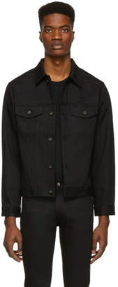 Naked & Famous Denim Denim Denim Black Selvedge Denim Classic Fit Jacket