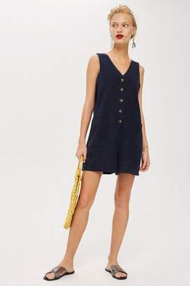28b14a6c35ae Women Linen Shorts Romper - ShopStyle