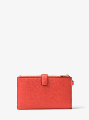 MICHAEL Michael Kors Adele Leather Smartphone Wallet