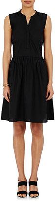Barneys New York Women's Poplin Sleeveless Dress $295 thestylecure.com