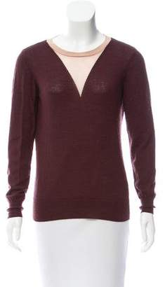 Opening Ceremony Wool-Blend Long Sleeve Sweater