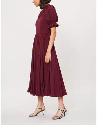 Emilia Wickstead Philly crepe dress